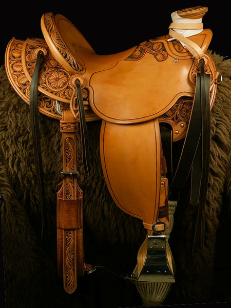 An outfit custom made for an Andalusian Horse and owner